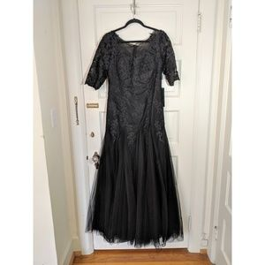 BRAND NEW IZILADY BLACK GOWN!